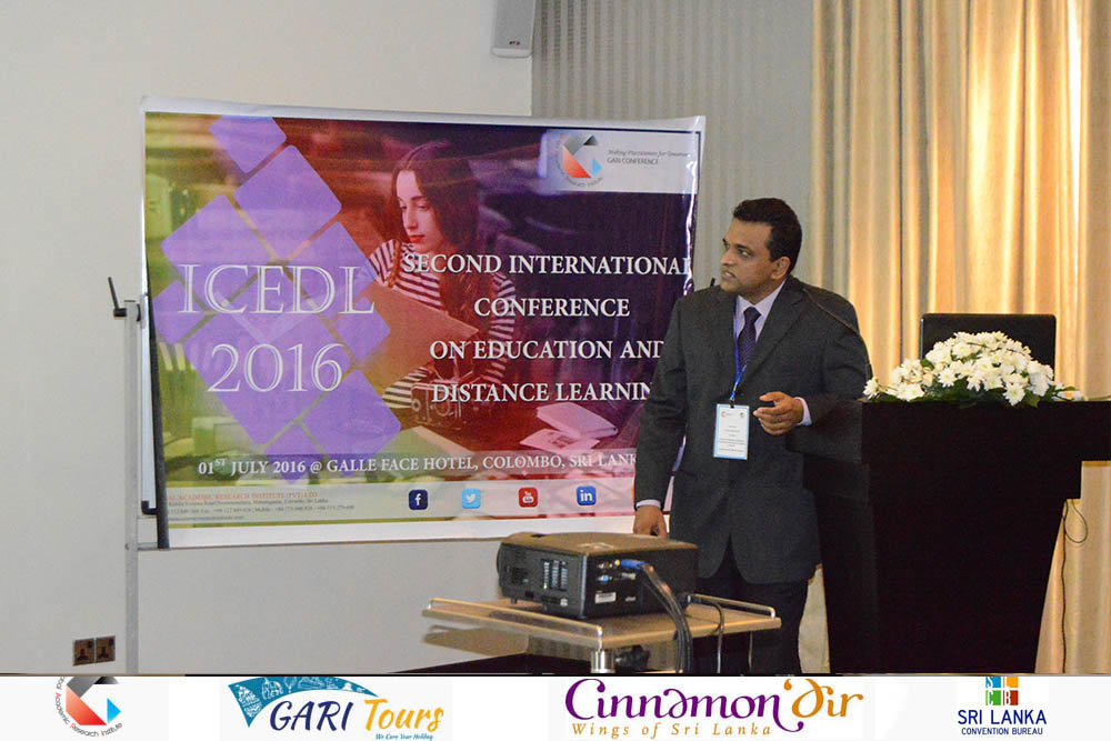 2nd ICEDL 2016